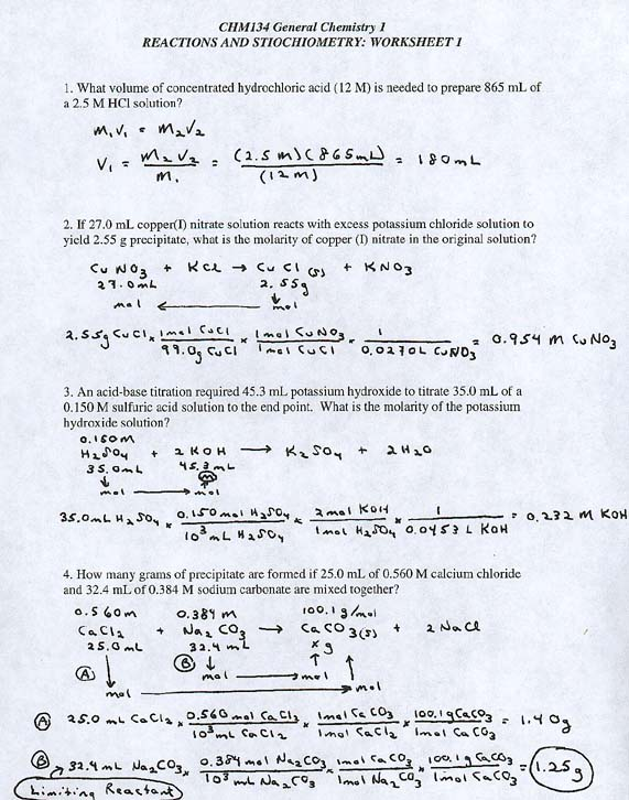 Stoichiometry Worksheets With Answers Free Worksheets Library – Solution Stoichiometry Worksheet
