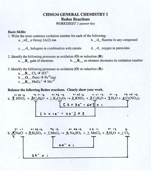 chm131worksheets – Stoichiometry Worksheet Answers